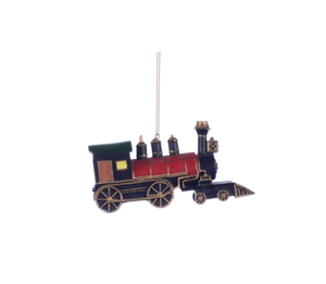 Ornament - Locomotive Green Top