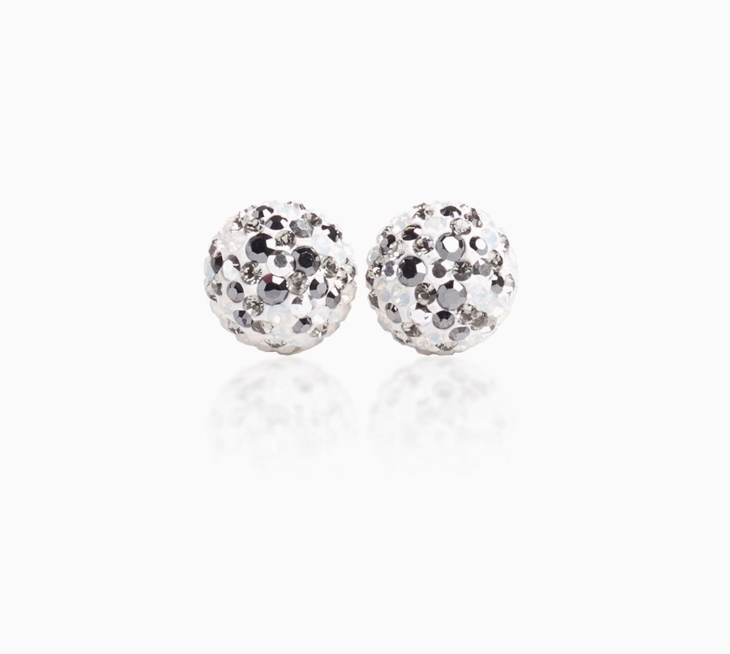 H&B Sparkle Ball™ Stud Earrings - 10mm Avalanche