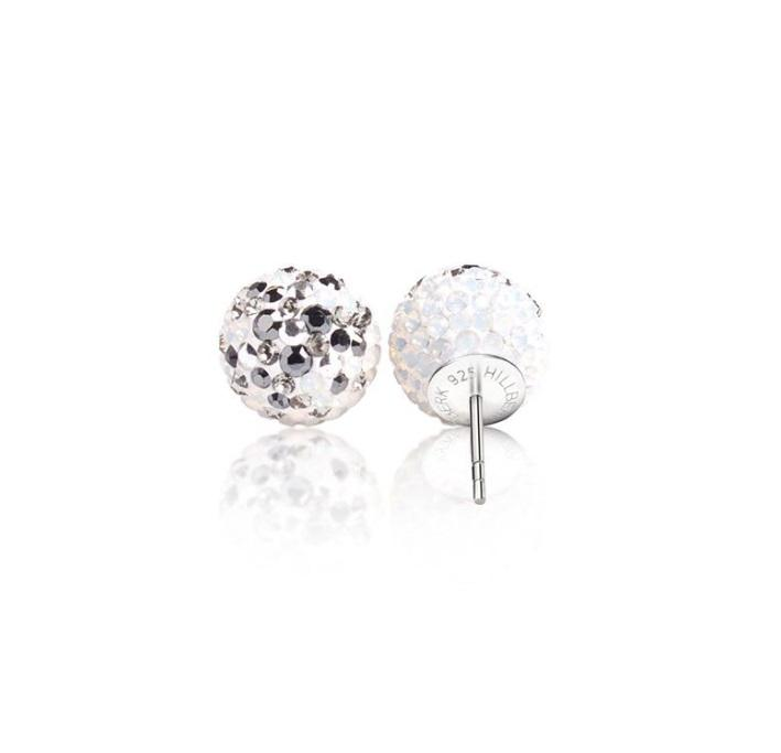 H&B Sparkle Ball™ Stud Earrings - 12mm Avalanche