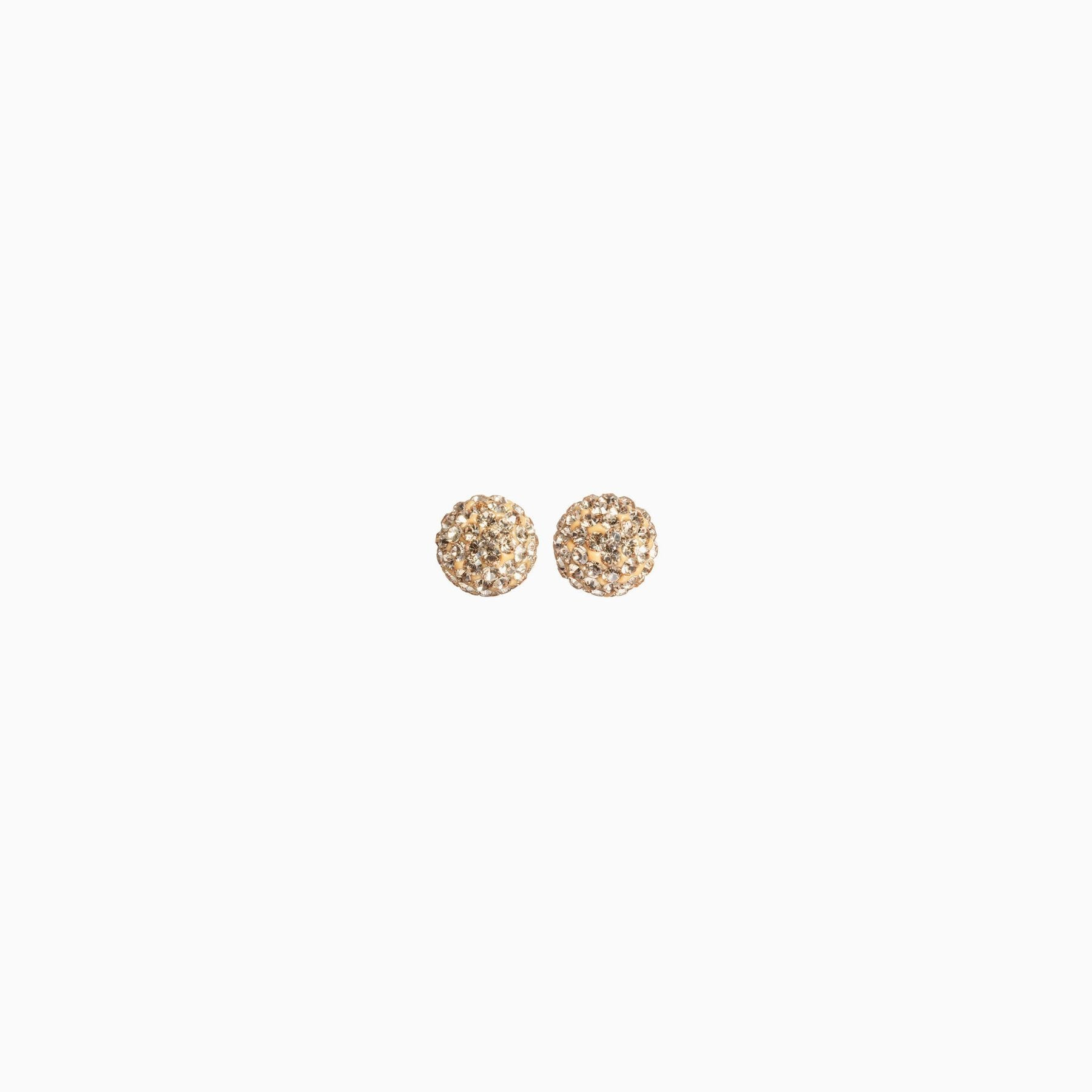 H&B Sparkle Ball™ Stud Earrings - 6mm Gold