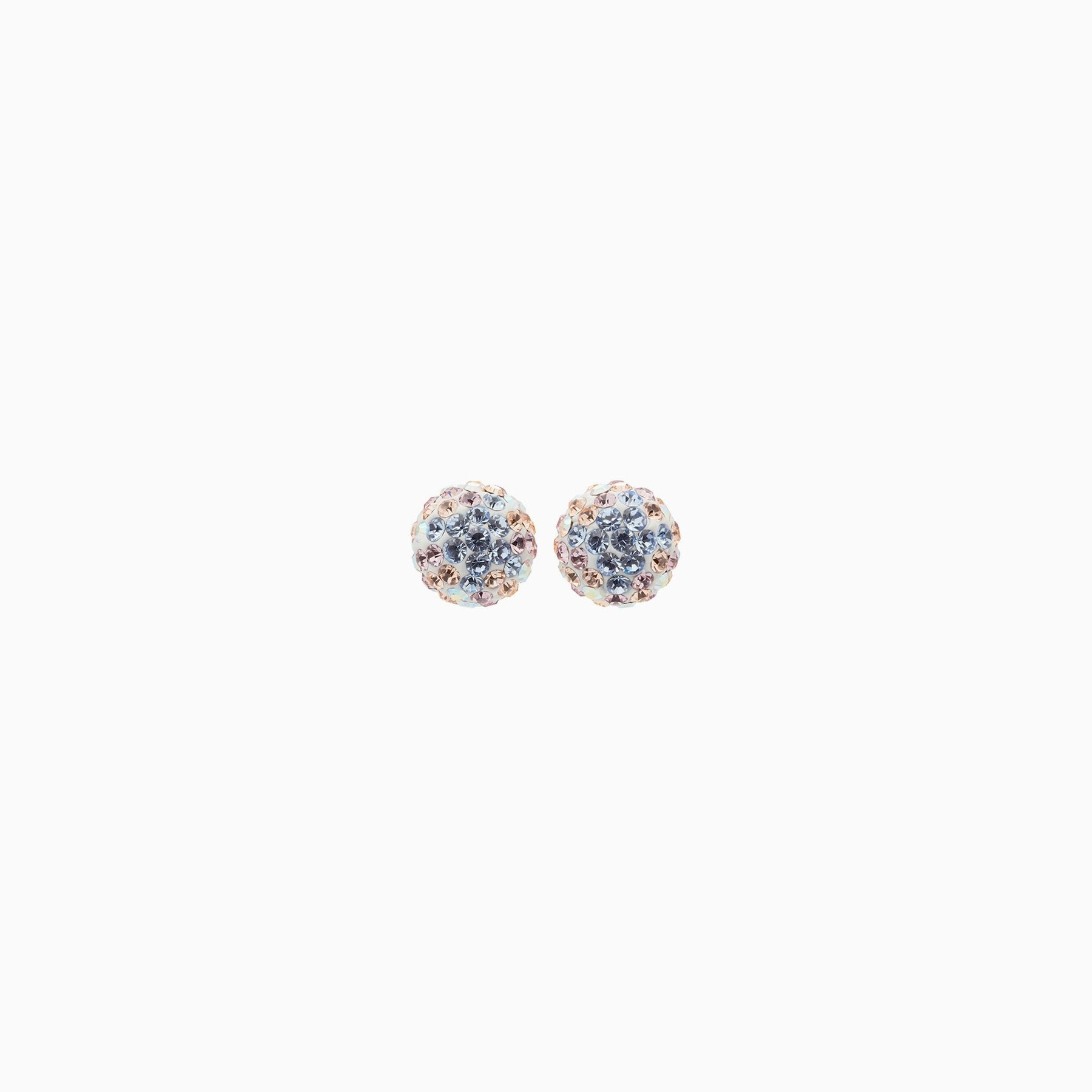 H&B Sparkle Ball™ Stud Earrings - 8mm Ethereal