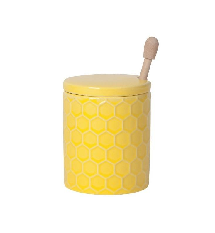 Honey Pot - Honeycomb w/dipper