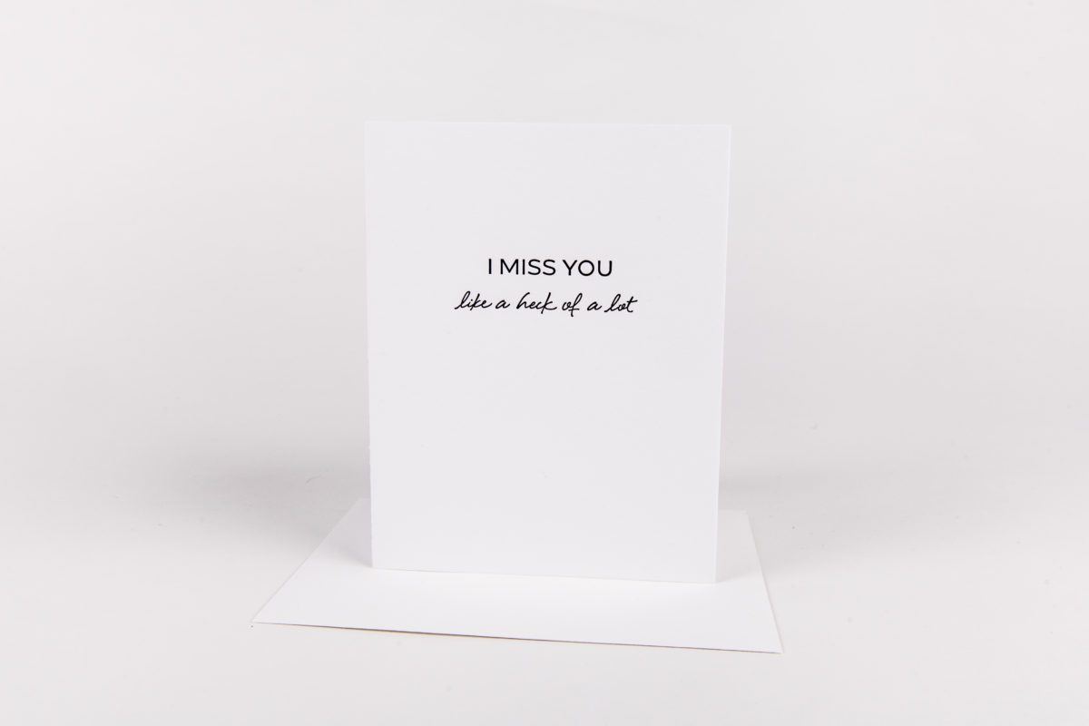 W&C Cards - I Miss You
