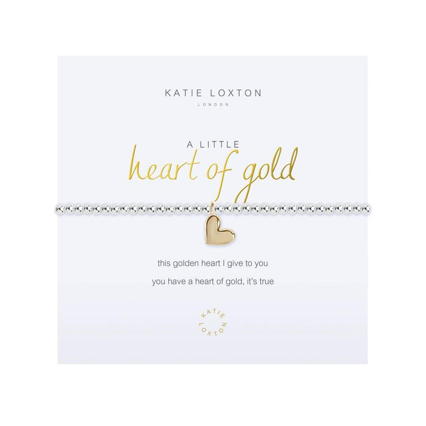 Katie Loxton Bracelet - Heart of Gold