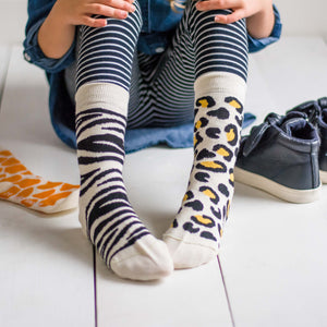 Kids Socks - Animal Print