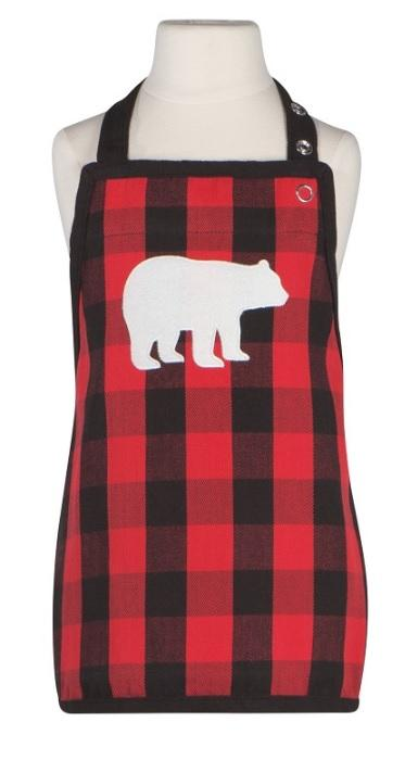 Kids Apron - Buffalo Bear