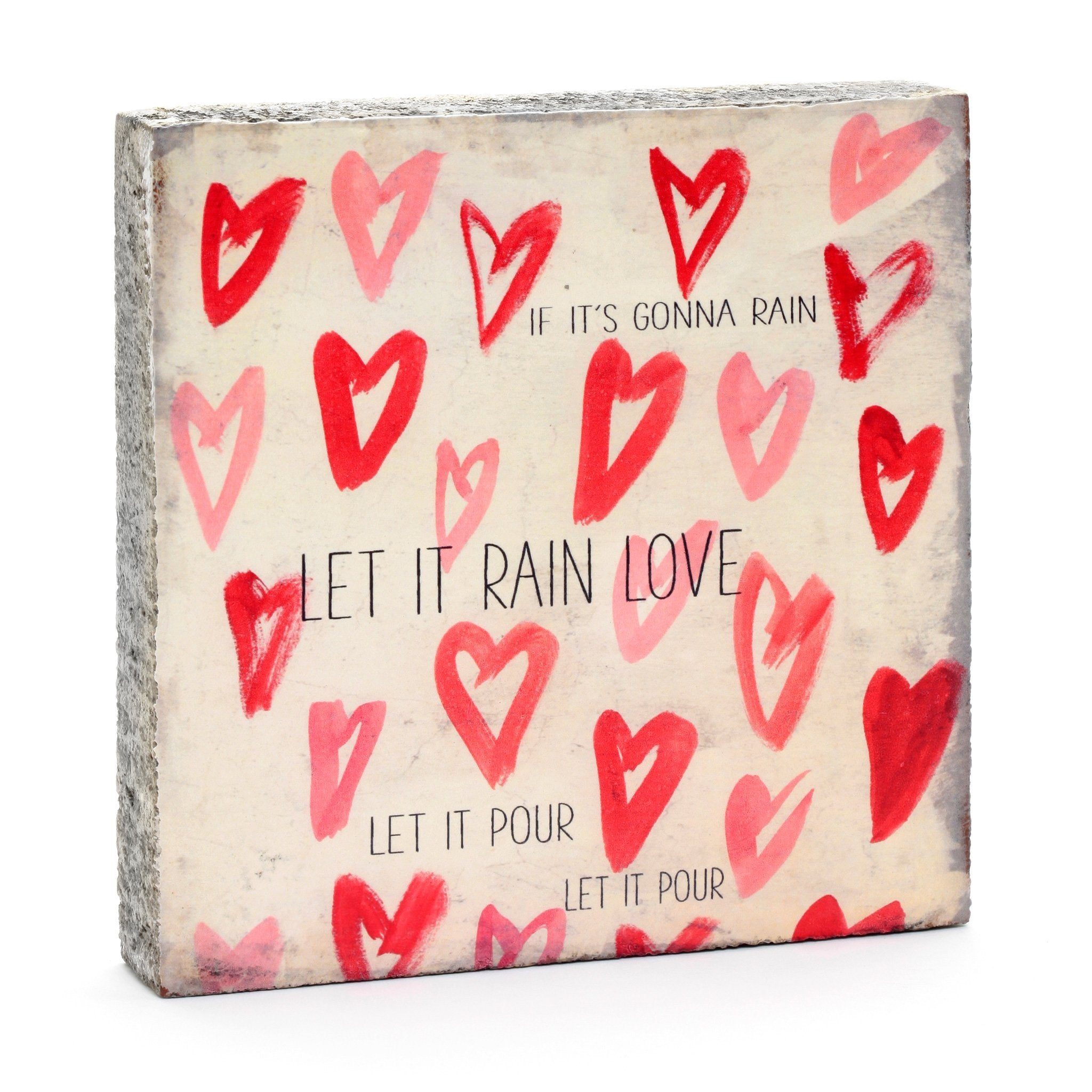 Wall Tile - Rain Love