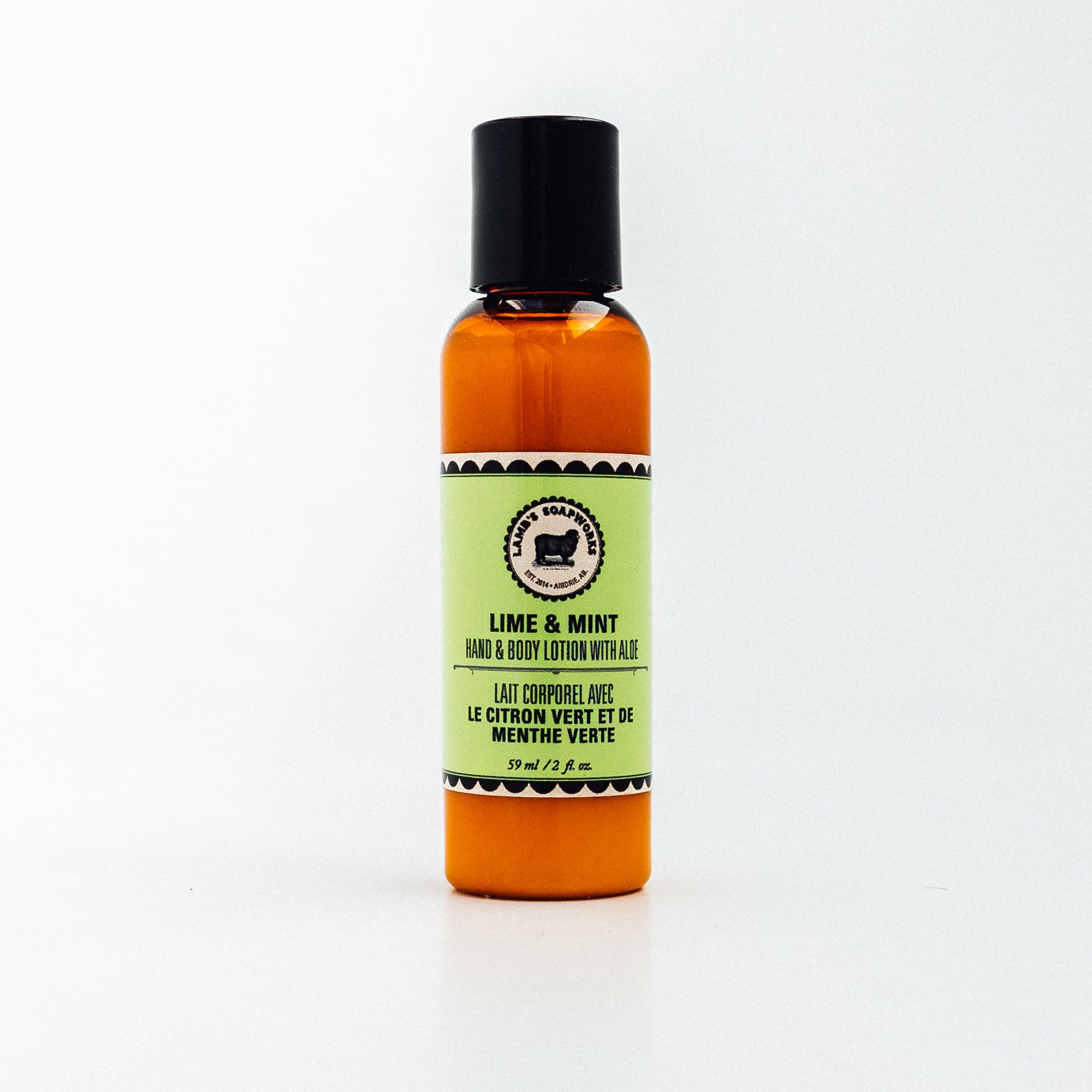 Lamb's Soapworks - Travel Lotion