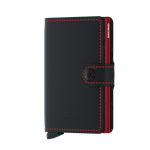 Load image into Gallery viewer, Miniwallet - Matte Black Red