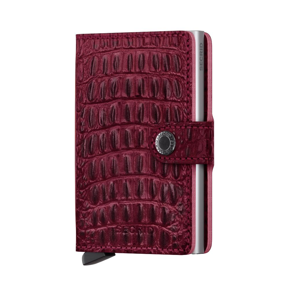 Miniwallet - Nile Red Silver