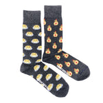 Load image into Gallery viewer, Men's Midcalf Socks - Pancakes