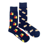 Load image into Gallery viewer, Men's Midcalf Socks - Hot Dogs