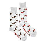 Load image into Gallery viewer, Men's Midcalf Socks - Dog Sweater