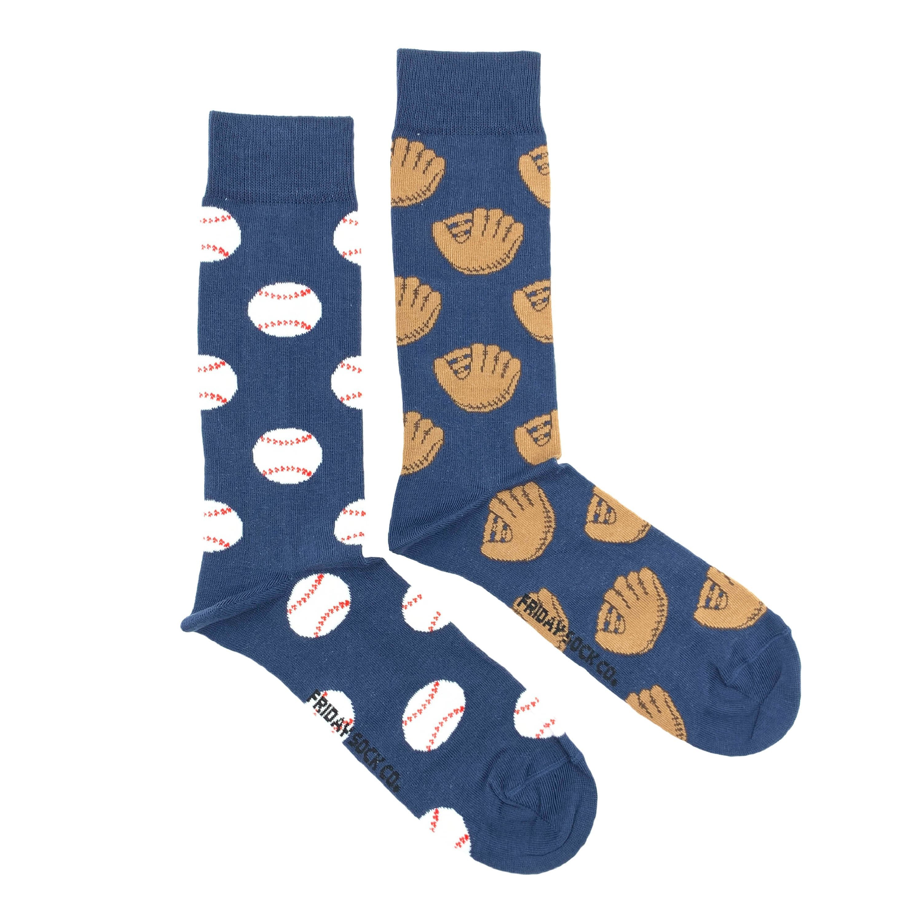 Men's Midcalf Socks - Baseball