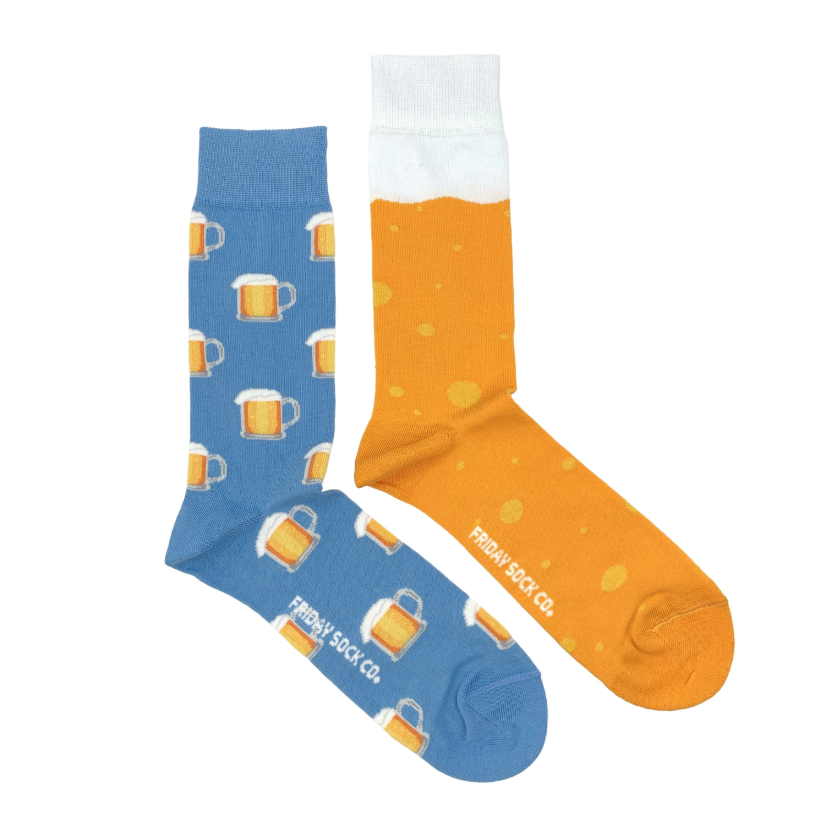 Men's Midcalf Socks - Beer Mug