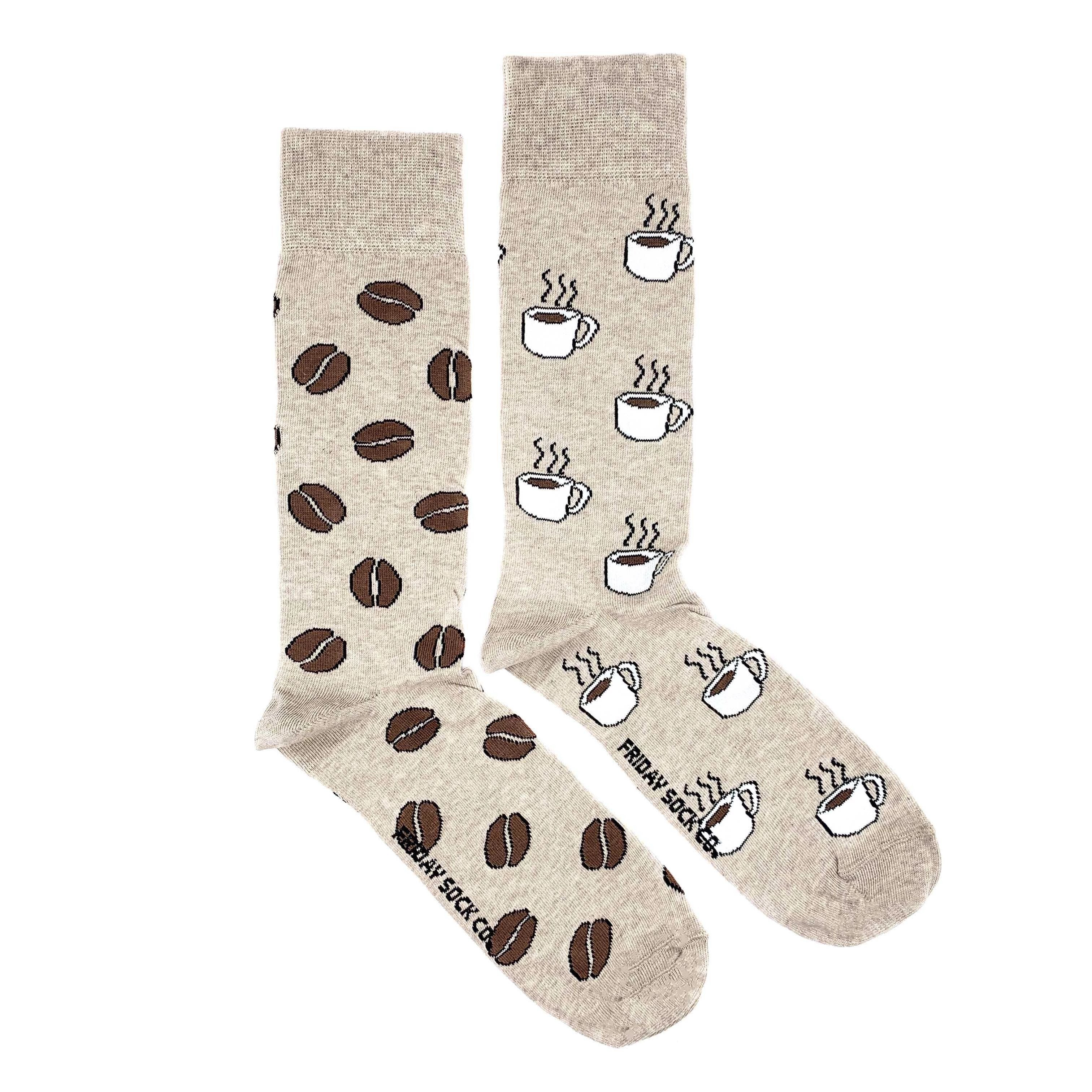 Men's Midcalf Socks - Coffee Beans
