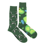 Load image into Gallery viewer, Men's Midcalf Socks - Golf Cart