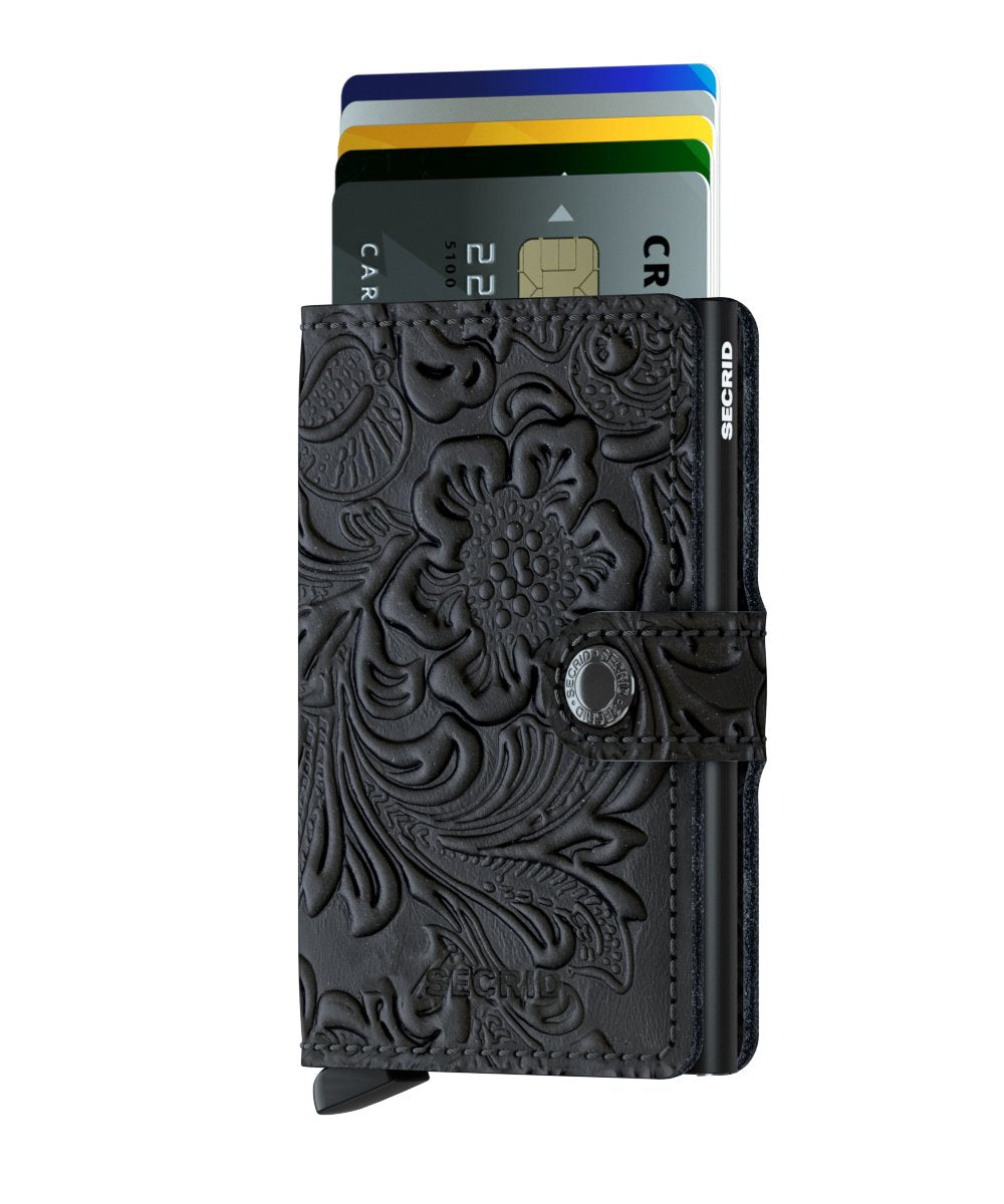 Miniwallet - Ornament Black