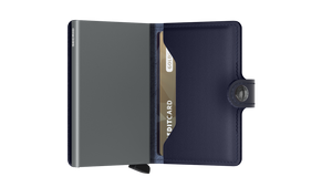 Miniwallet - Metallic Blue