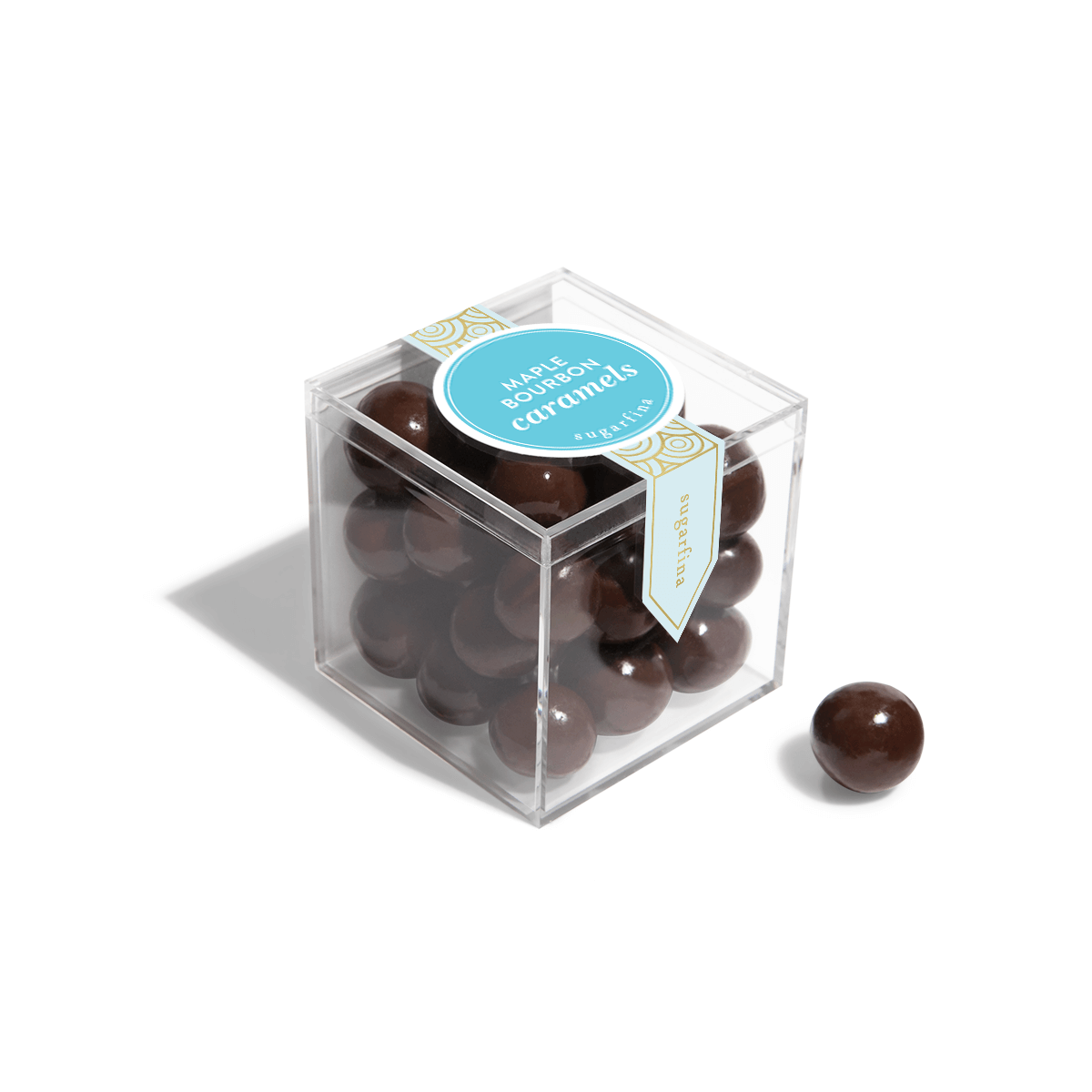Sugarfina Candy Cube - Maple Bourbon Caramels