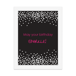 Load image into Gallery viewer, RedPB Card - May your Birthday Sparkle