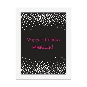 RedPB Card - May your Birthday Sparkle