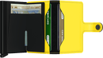 Load image into Gallery viewer, Miniwallet - Matte Black Yellow