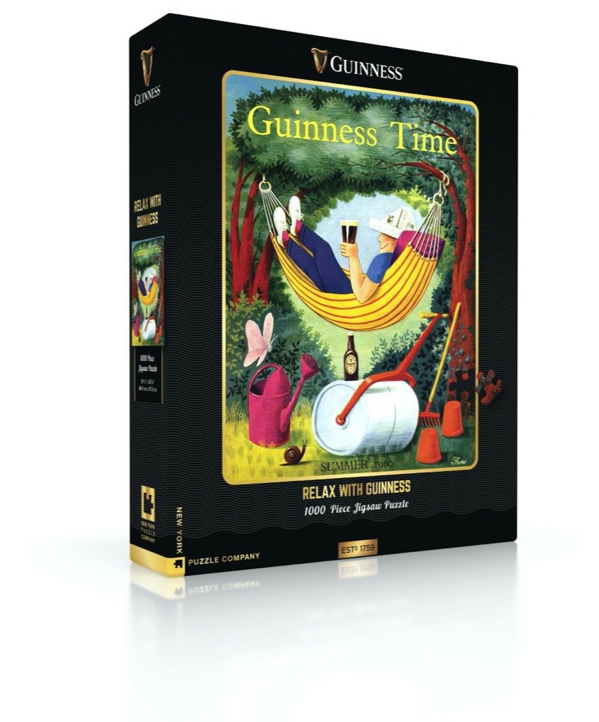 Puzzle - Relax with Guinness 1000pc