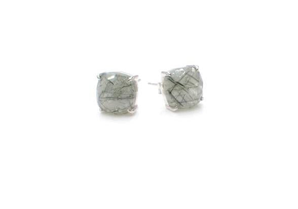 E&E Earrings - Reine Rutilated Quartz