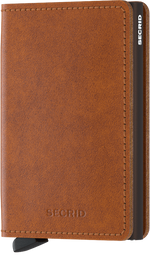 Load image into Gallery viewer, Slimwallet - Original Cognac Brown