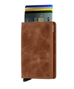 Load image into Gallery viewer, Slimwallet - Vintage Cognac Rust