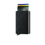 Load image into Gallery viewer, Slimwallet - Stitch Linea Black