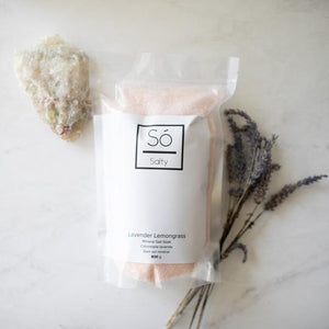 Só Luxury Salty Soak - Lavender Lemongrass 800g