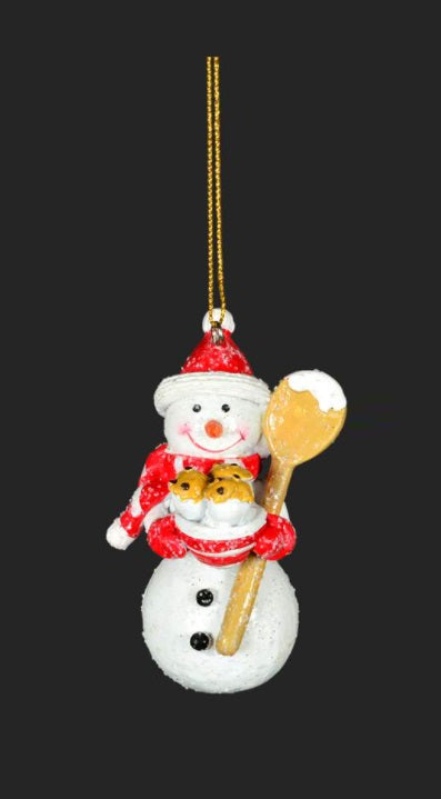 Ornament - Frosted Snowman
