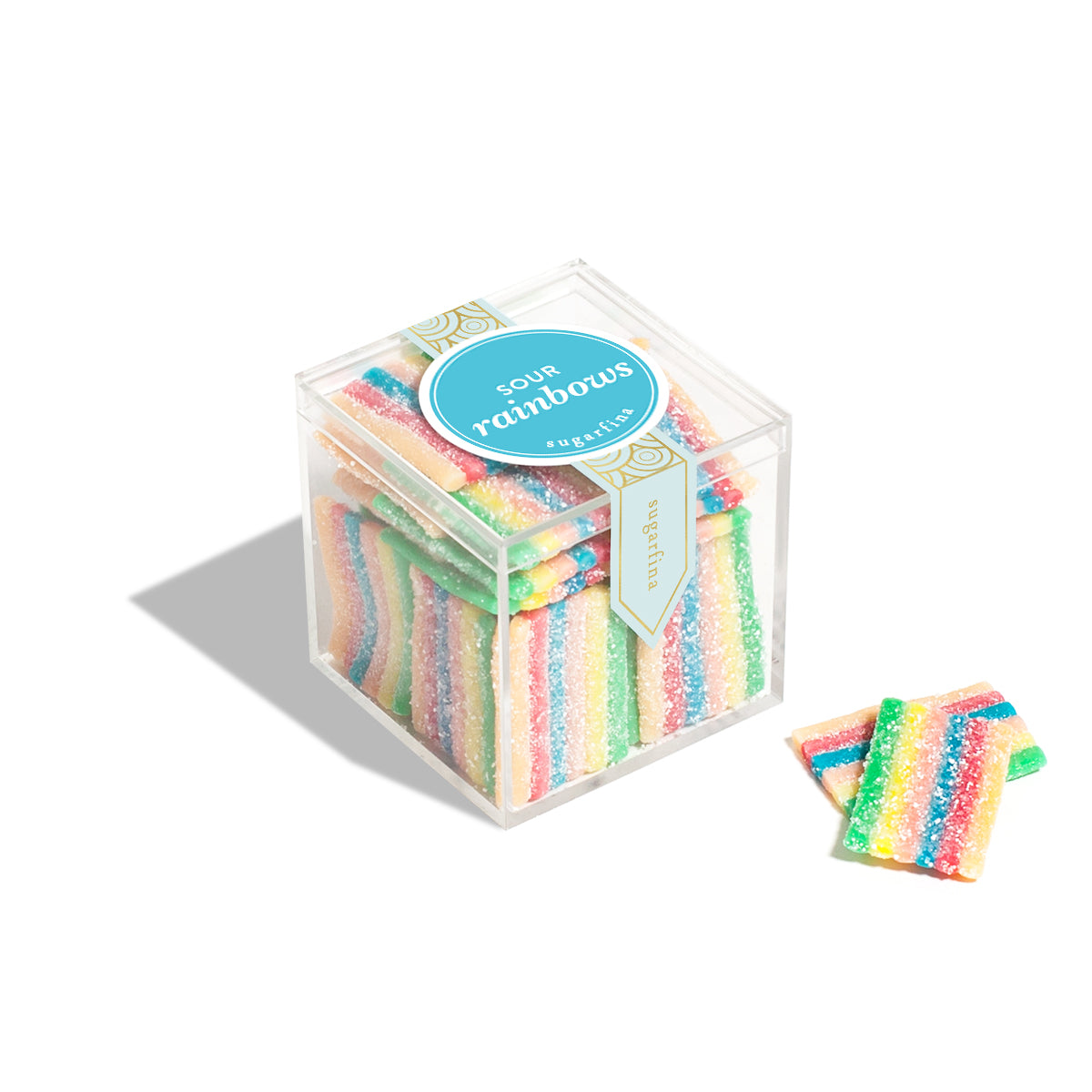 Sugarfina Candy Cube - Sour Rainbows
