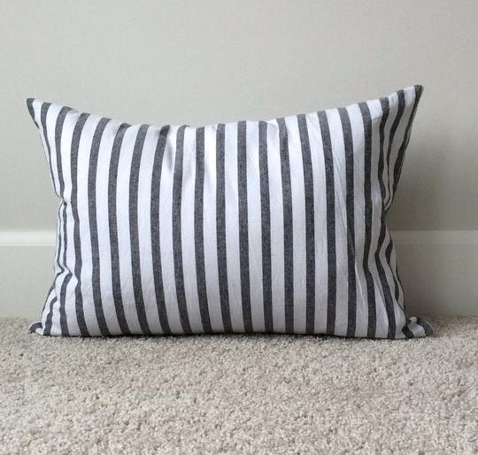 L Rempel Art Cushion - Stripes
