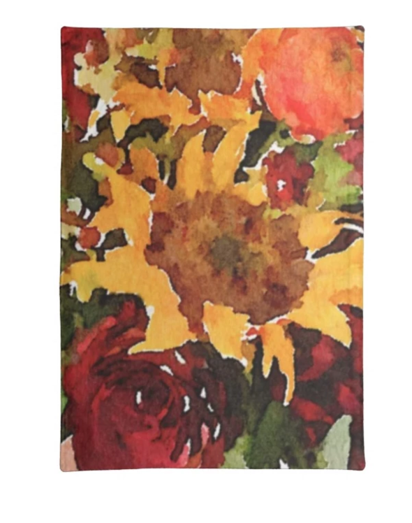 L Rempel Art Tea Towel - Sunflowers