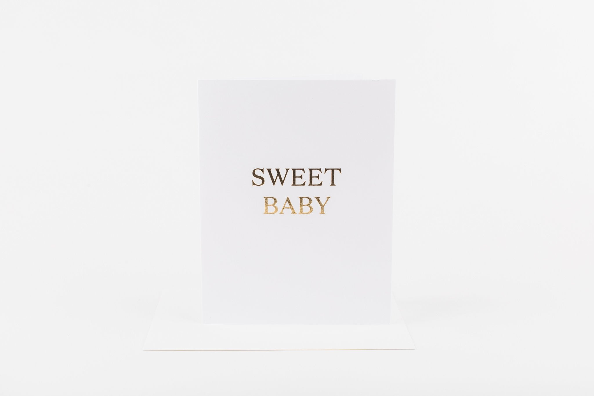 W&C Cards - Sweet Baby Gold