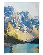 Load image into Gallery viewer, L Rempel Art Tea Towel - Ten Peaks