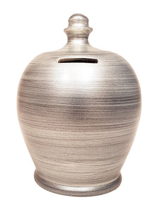 Terramundi Pot - Metallic Silver