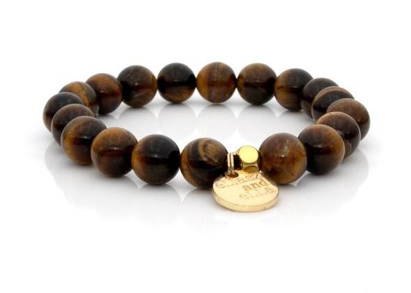 E&E Bracelet - Tiger Eye 10mm