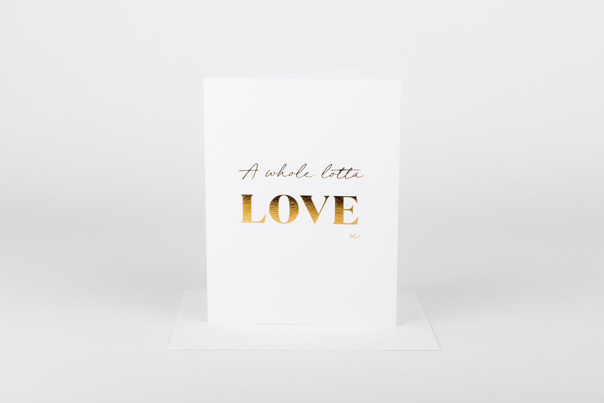 W&C Cards - A Whole Lotta Love x