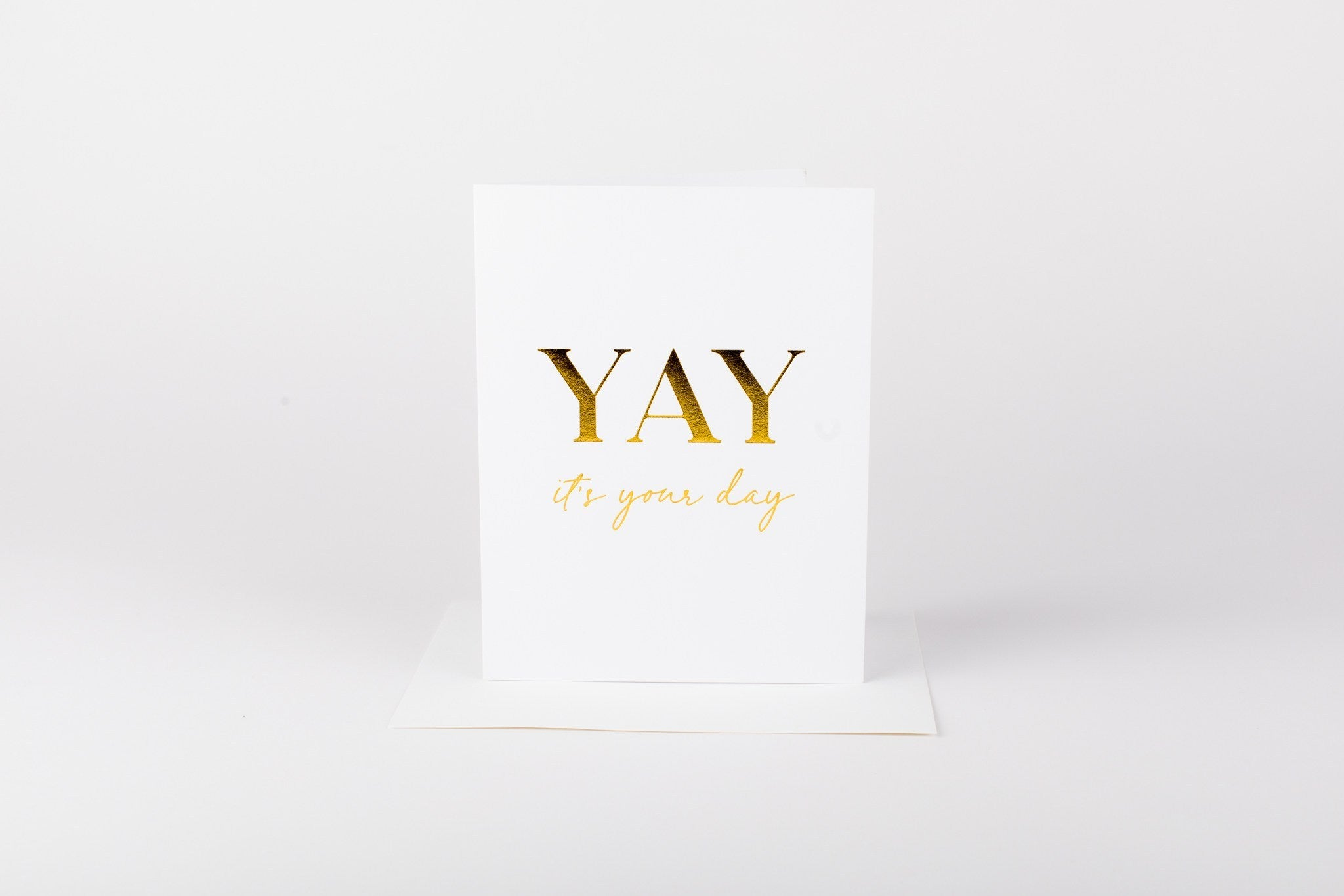 W&C Cards - Yay it's your day