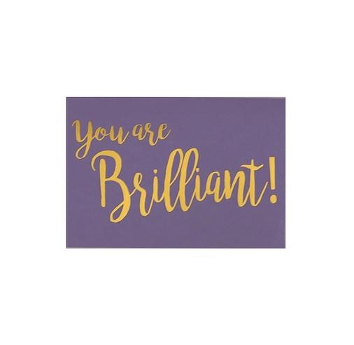 RedPB-Card - You Are Brilliant