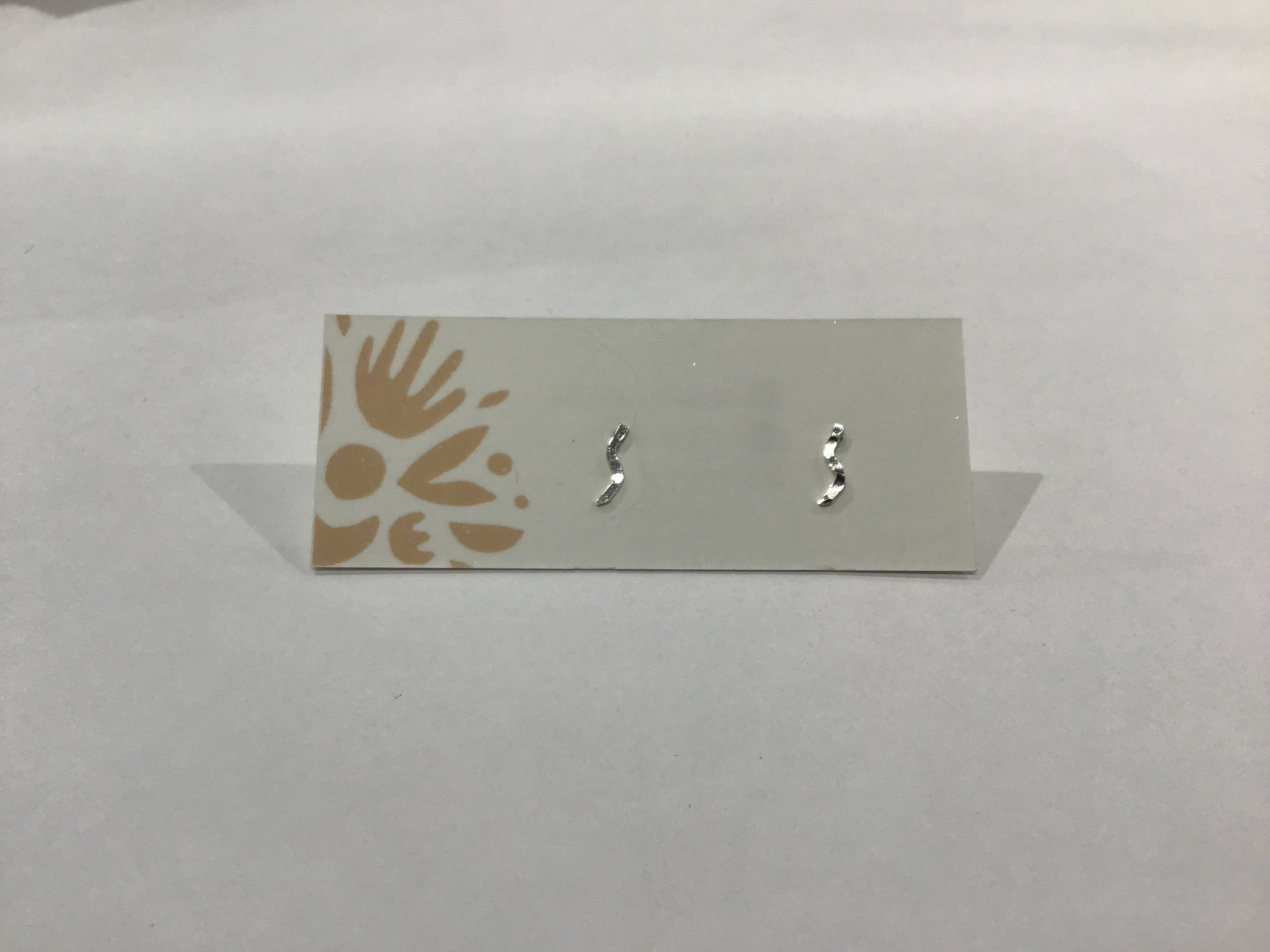Stud Earrings - Lightning Bolt
