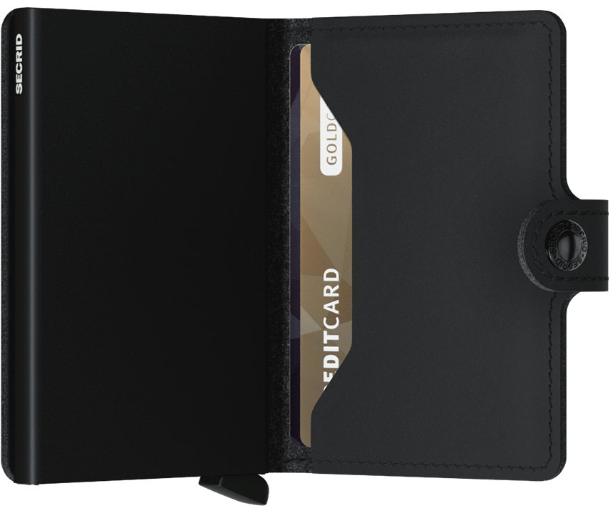 Miniwallet - Vegan Black