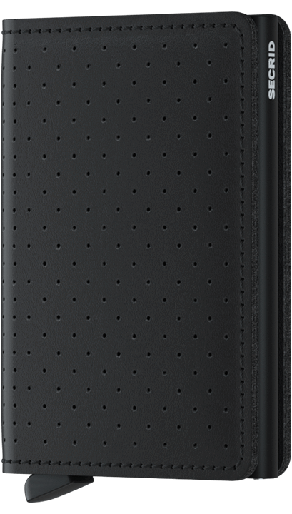 Slimwallet - Perforated Black
