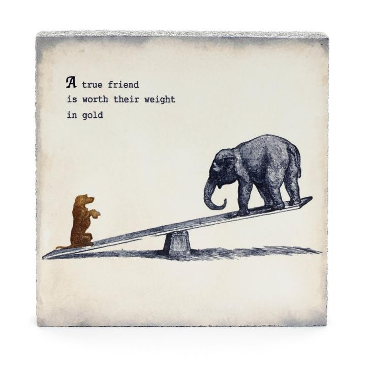 Wall Tile - True Friend