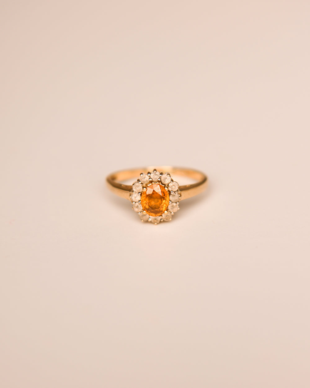 Maggie 9ct Gold Vintage Topaz Ring