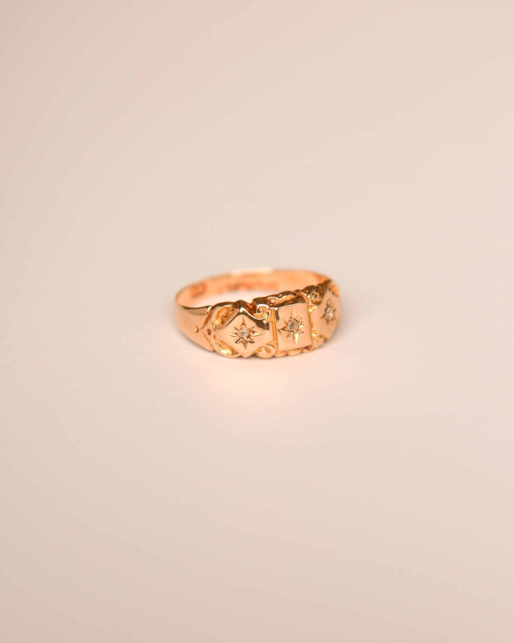 Winifred 18ct Gold Antique Diamond Ring